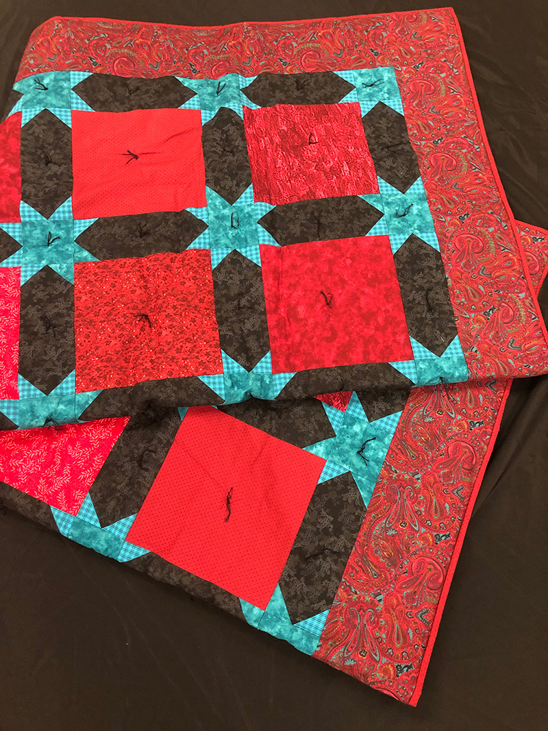 Red-Large-Quilt